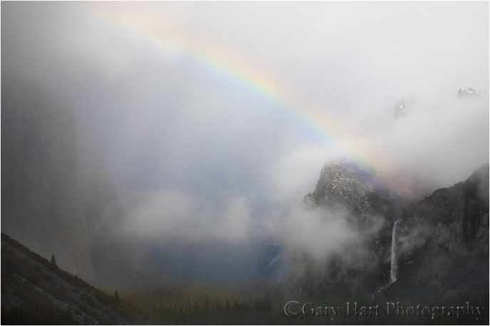 Rainbow and Bridalveil Fall