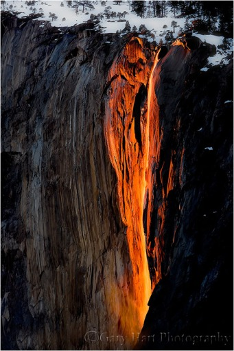 Horsetail Fall, El Capitan, Yosemite