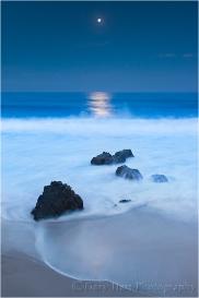 Moonlight, Garrapata Beach, Big Sur