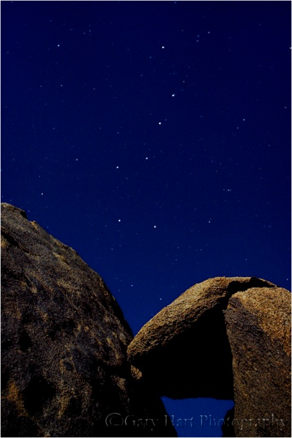 Big Dipper, Alabama Hills, California