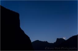 Daybreak, El Capitan and Half Dome, Yosemite