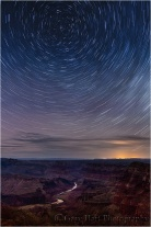 Star Trails, Desert View, Grand Canyon National Park