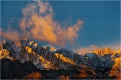 Winter Sunrise, Lone Pine Peak and Mt. Whitney