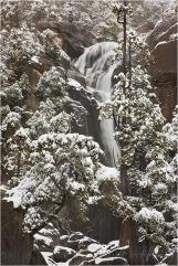 Gary Hart Photography: Winter Cascade, Cascade Creek, Yosemite