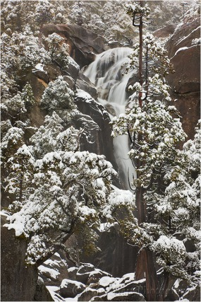 Gary Hart Photography: Winter Cascade, Cascade Creek, Yosemite