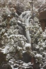 Winter Cascade, Cascade Creek, Yosemite