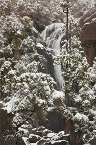 Winter Cascade, Cascade Creek, Yosemite