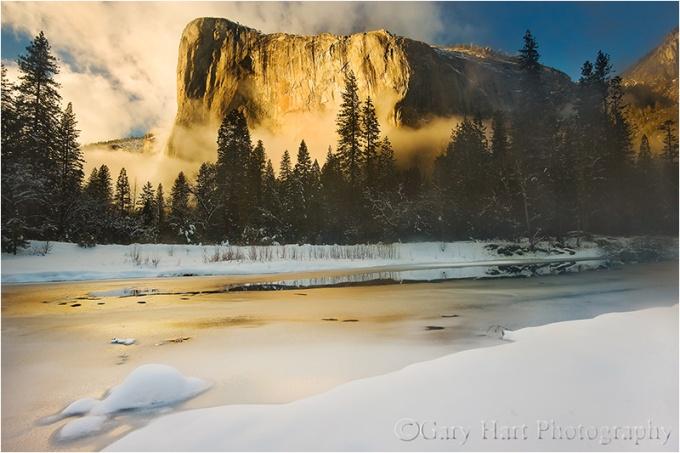 Winter Sunset, El Capitan, Yosemite