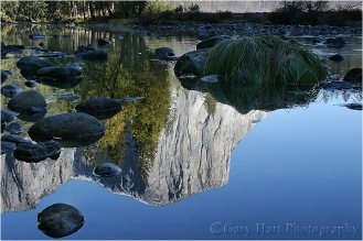 Reflection, El Capitan, Yosemite