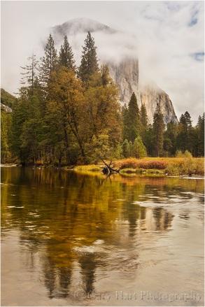 Gary Hart Photography: Shrouded El Capitan, Valley View, Yosemite