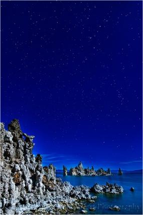 Tufa by Moonlight, Mono Lake