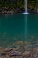 Serenity, Waterfall on the Road to Hana, Maui :: Some waterfalls exhilarate, others soothe.
