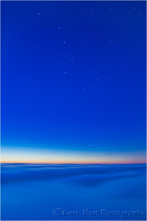 Almost Heaven, Big Dipper Above the Fog, Big Sur