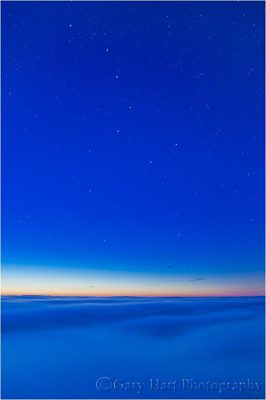Almost Heaven, Big Dipper and Fog, Big Sur