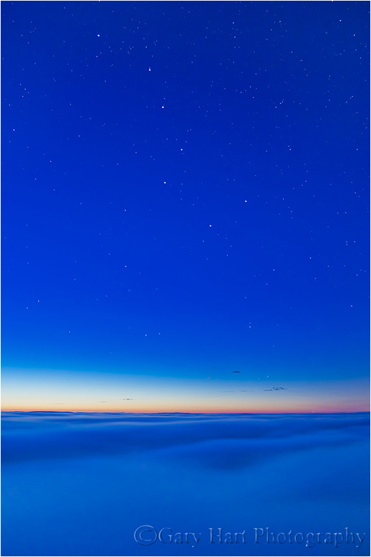 Almost Heaven, Big Dipper and Fog, Big Sur