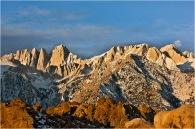 Gary Hart Photography: Moonset, Mt. Whitney, Alabama Hills, California