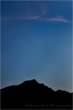 Setting Crescent, Lone Pine Peak, California