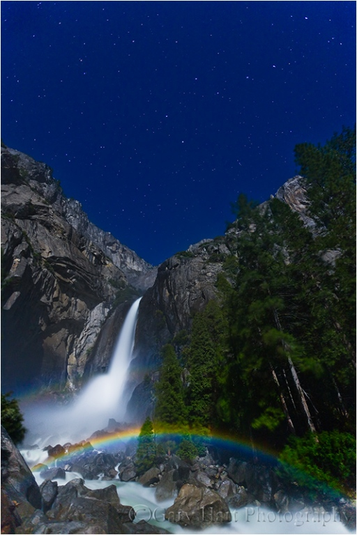 Moonbow, Lower Yosemite Fall, Yosemite