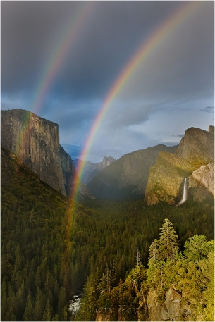 Double Rainbow, Yosemite Valley