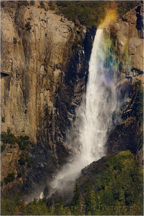 Spring Rainbow, Bridalveil Fall, Yosemite
