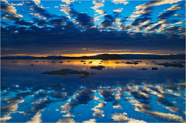 Sunrise Mirror, Mono Lake