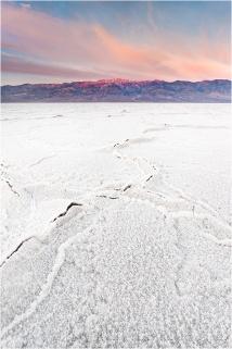 Sunrise, Telescope Peak and Badwater, Death Valley