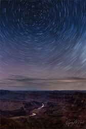 Gary Hart Photography: Star Trails, Desert View, Grand Canyon