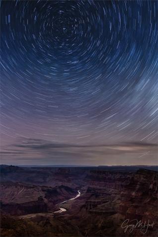 Gary Hart Photography: Star Trails, Desert View, Grand Canyon