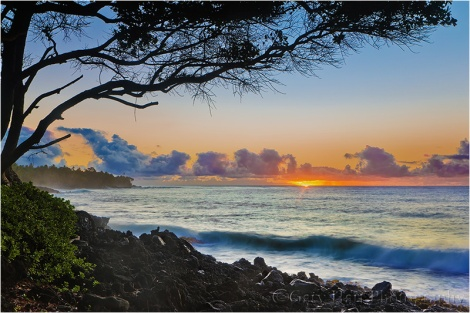 Sunrise in Paradise, Puna Coast, Hawaii