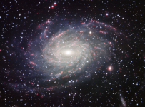 Spiral Galaxy (Milky look-alike): This is what our galaxy would look like from above.
