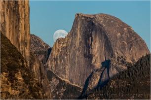 Moonrise, Half Dome, Yosemite
