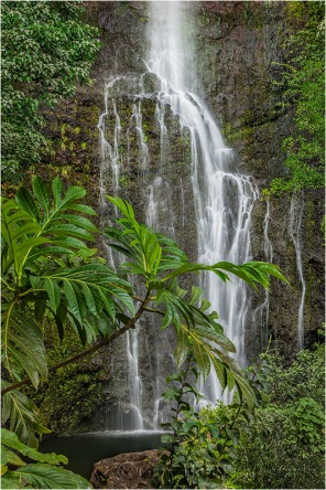 Wailua Fall, Hana Highway, Maui