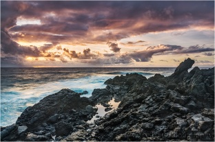 Sunrise, Seven Sacred Pools, Maui