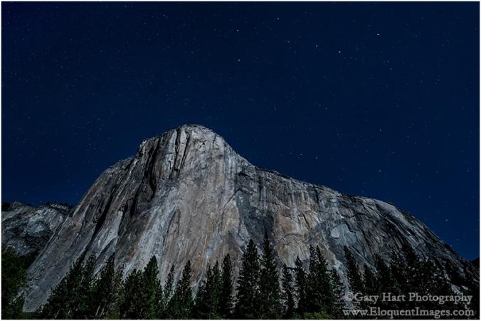 Gary Hart Photography: El Capitan and the Big Dipper, El Capitan Meadow, Yosemite