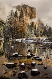 El Capitan and Fresh Snow, Yosemite