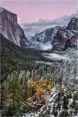 Winter Twilight, Yosemite Valley