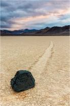 Sliding Rock, The Racetrack, Death Valley