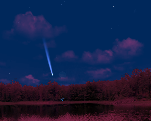 Starry Night PanSTARRS 3-12-13