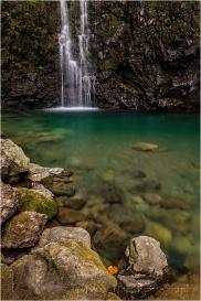 Waterfall and Pool, Road to Hana, Maui