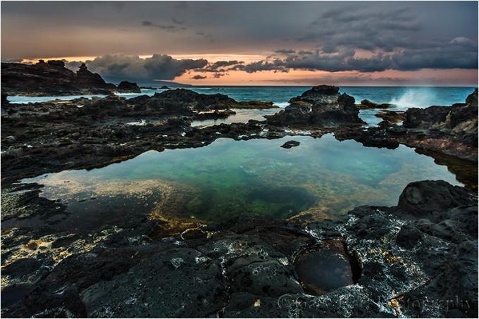 Lava Pool, West Maui, Hawaii