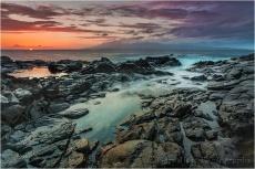 Gary Hart Photography: Facing West, Molokai from West Maui, Hawaii