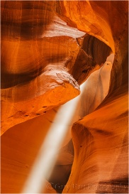 Gary Hart Photography, Focused Beam, Upper Antelope Canyon, Arizona