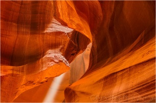 Nature's Cathedral, Upper Antelope Canyon, Arizona