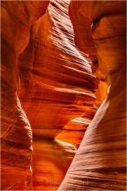 Rock Face, Upper Antelope Canyon, Arizona