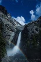 Lunar Rainbow, Lower Yosemite Fall, Yosemite