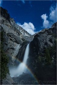 Lunar Rainbow, Lower Yosemite Fall, Yosemite