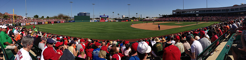 Giants/Rockies at Scottsdale Stadium, March 21, 2013