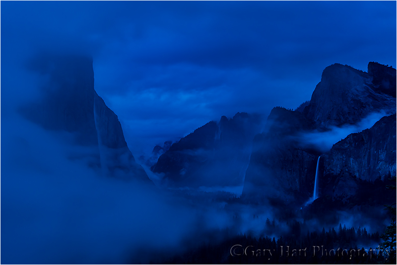 Clearing Storm by Twilight, Yosemite Valley
