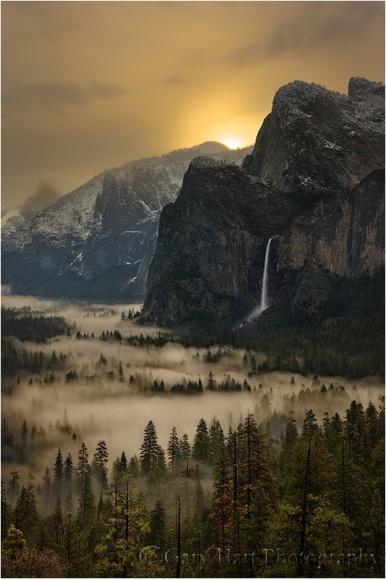 Gary Hart Photography: First Light, Yosemite Valley, Yosemite National Park