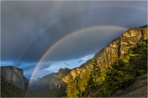 Yosemite Rainbow, Tunnel View